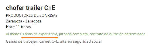empleo conductor chofer 1